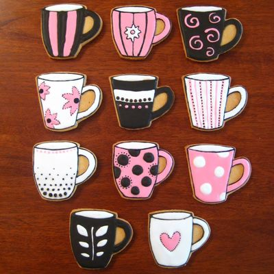 Coffee Mug Cookies