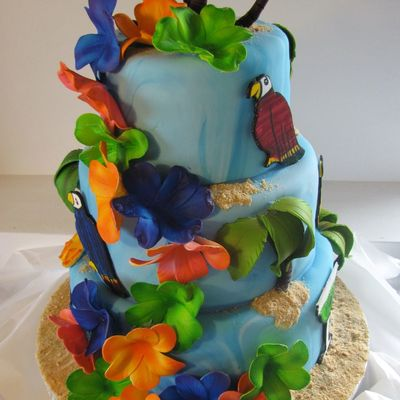 Jimmy Buffet Cake