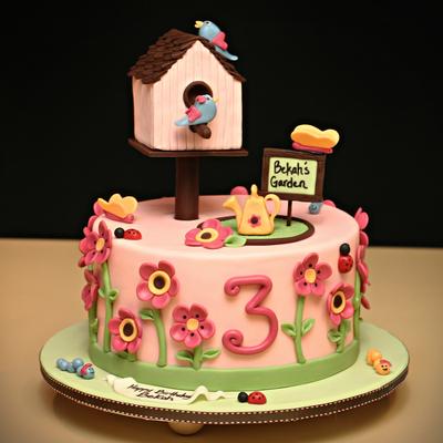 Best Blooming Garden Cakes