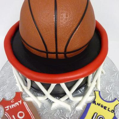 Basketball Hoop Birthday