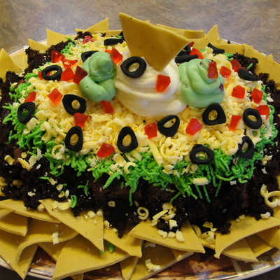Nacho Cake For Cinco De Mayo