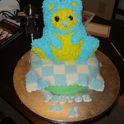 Teddy Bear Picnic 1St Birthday Cake