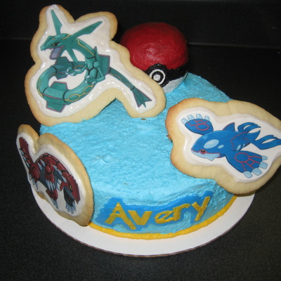 Pokemon Cake And Cookies on Cake Central