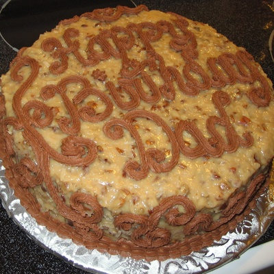 German Chocolate Birthday