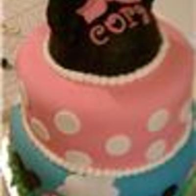 Cora's Minnie Mouse Cake