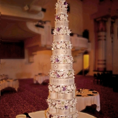 Heath & Jackie's Wedding Cake
