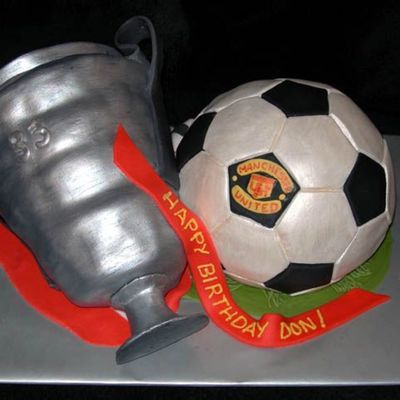 Manchester United Fan's Birthday Cake