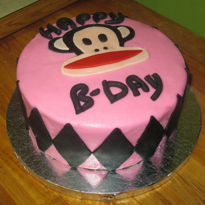 Julius Monkey Birthday Cake