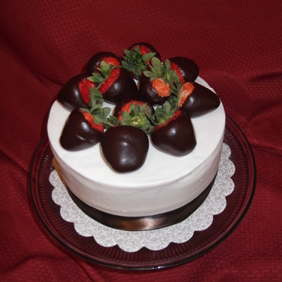 Strawberries And Ganache