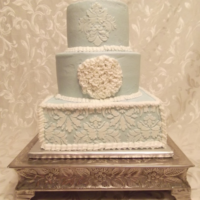 Buttercream And Damask!