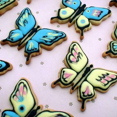 Butterfly Cookies on Cake Central