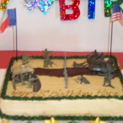 Peachy Army Cake Decorating Photos Birthday Cards Printable Trancafe Filternl