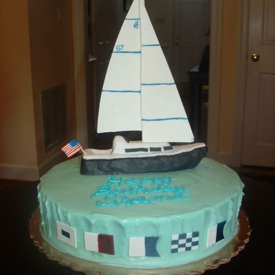 Cake Images Boat : Top Sailboat Cakes - CakeCentral.com