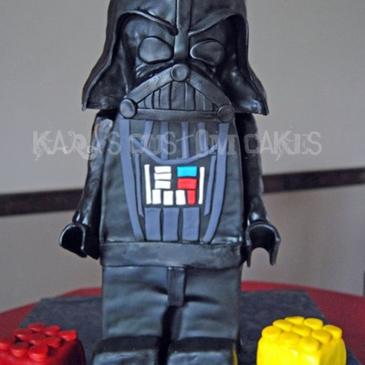 3D Lego Star Wars Darth Vader Cake For Icing Smiles