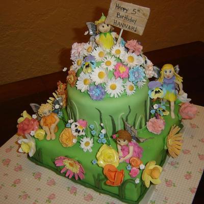 1804 Flower Garden Cake Photos