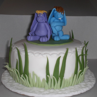 Funny Bunnies on Cake Central
