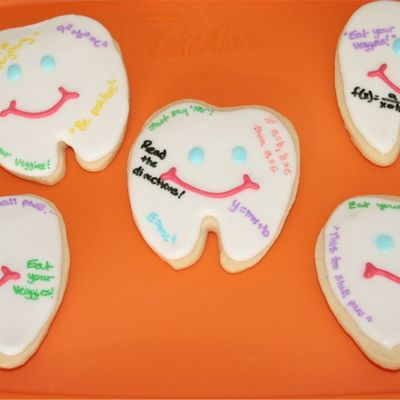 Wisdom Teeth Cookies