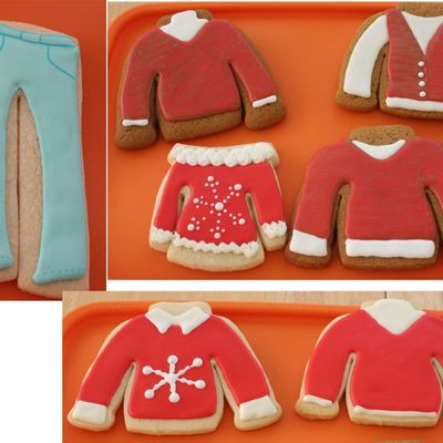 More Christmas Clothes Cookies 2006
