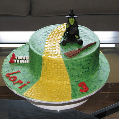 Wicked Witch Of The West Cake