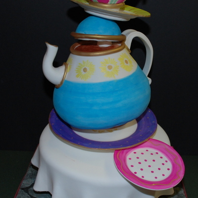 Unbirthday Tea Party Cake on Cake Central