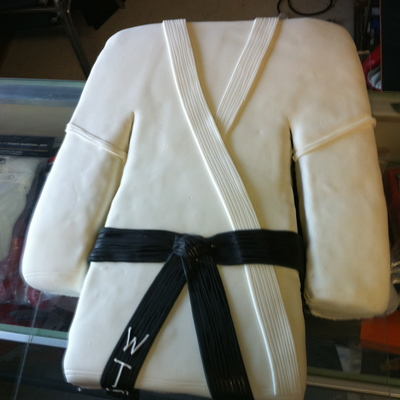Karate Gi Black Belt