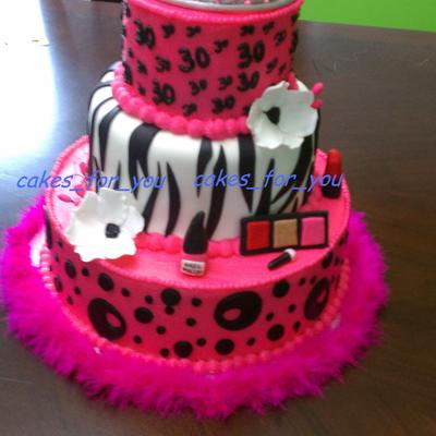 30Th Princess Diva Cake