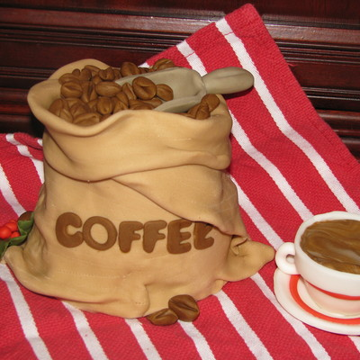 Coffee Bag Cake