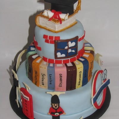 London-Library Cake For My Boss
