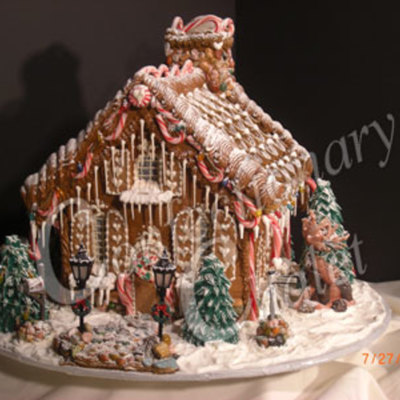 Gingerbread Chalet - Lambeth Style Roof