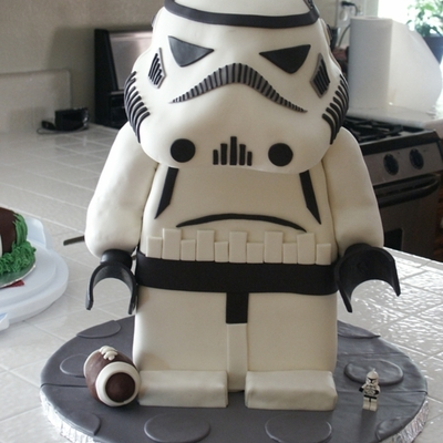 Top Star Wars Cakes Cakecentral Com