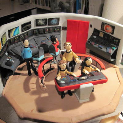 Star Trek Grooms Cake Or Could Be Birthday Cake