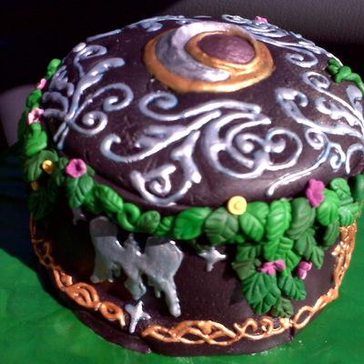 Scroll Cake Decorating Photos