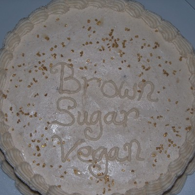 Vegan Brown Sugar Cake
