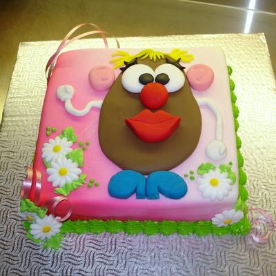 Marvelous Potato Head Cake Decorating Photos Personalised Birthday Cards Veneteletsinfo