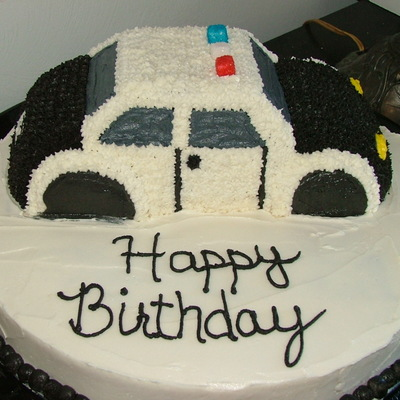 Miraculous Police Cake Decorating Photos Funny Birthday Cards Online Alyptdamsfinfo