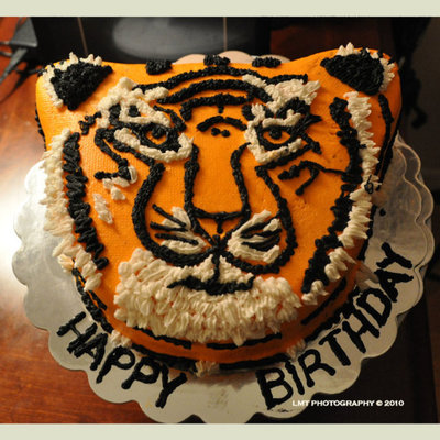 Year Of The Tiger Birthday Cake