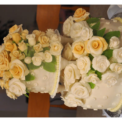 White And Ivory Roses