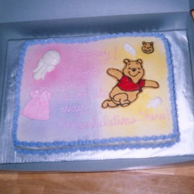 Pooh Baby Shower 2005