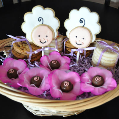 Twin Gift Basket