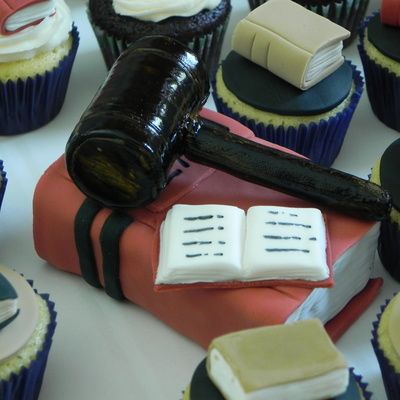 "National Library Week Mini Cupcakes ""book Theme"""