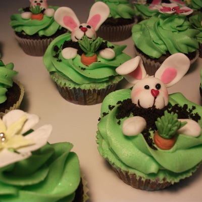 Easter Cupcakes - Kinder
