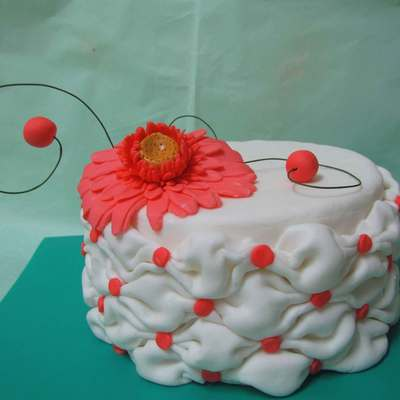 Billowing Cake With Tutorial on Cake Central