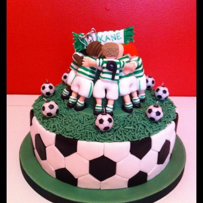 Football Huddle Cake
