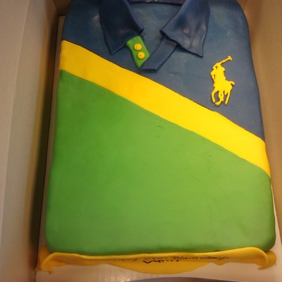 Polo Birthday Cake