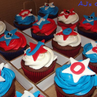 3802e2b8d6d Red white blue Cake Decorating Photos