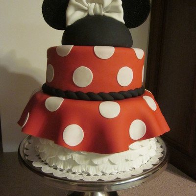 Minnie Mouse Bride