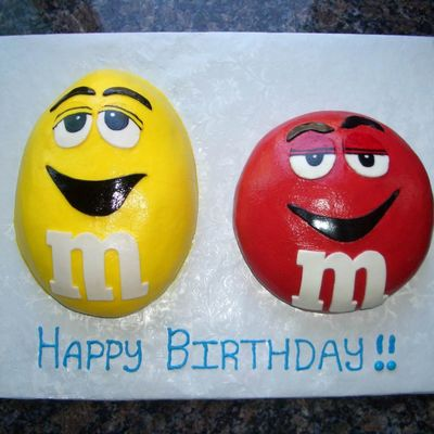 M&m Birthday Cake