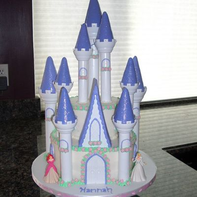 Castle Cake For Hannah's Princess Party