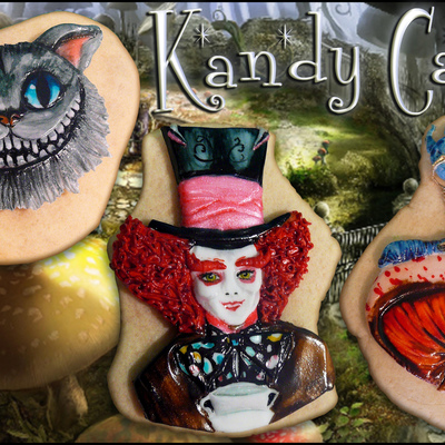 Mad Hatter Cookies~