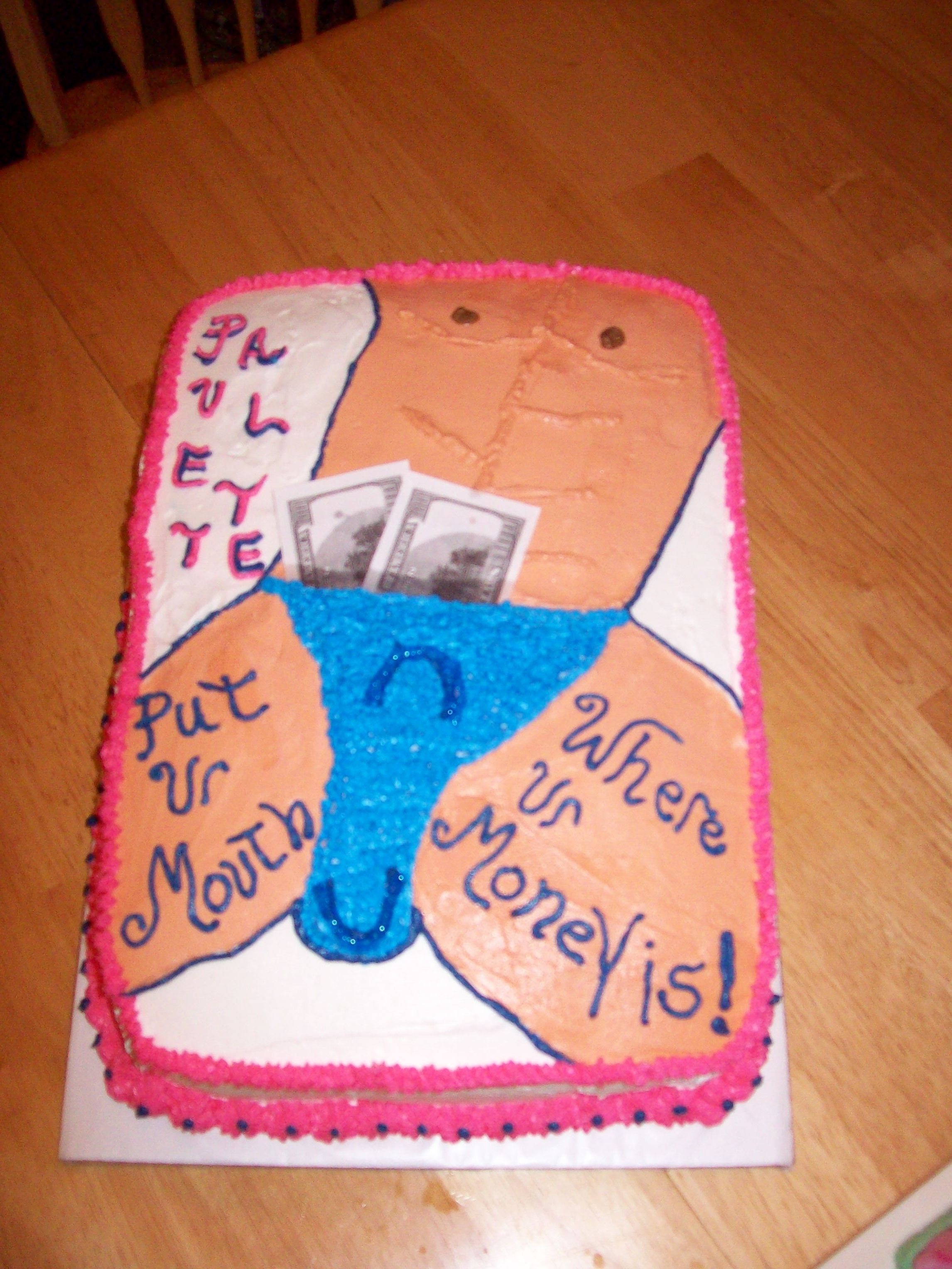 Surprising Stripper Cake Cakecentral Com Funny Birthday Cards Online Alyptdamsfinfo